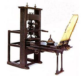 Inversión de la imprenta