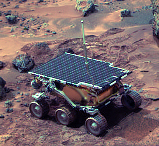 Mars Pathfinder and the Sojourner Rover