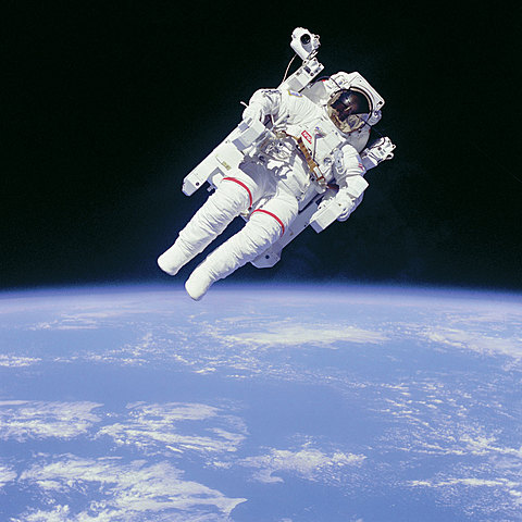 First free fly in space