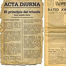 Acta Diurma in Rome (130 BC)