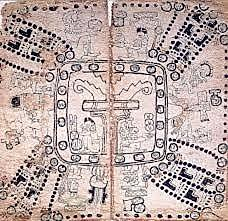 Codex in The Mayan (5th Century)