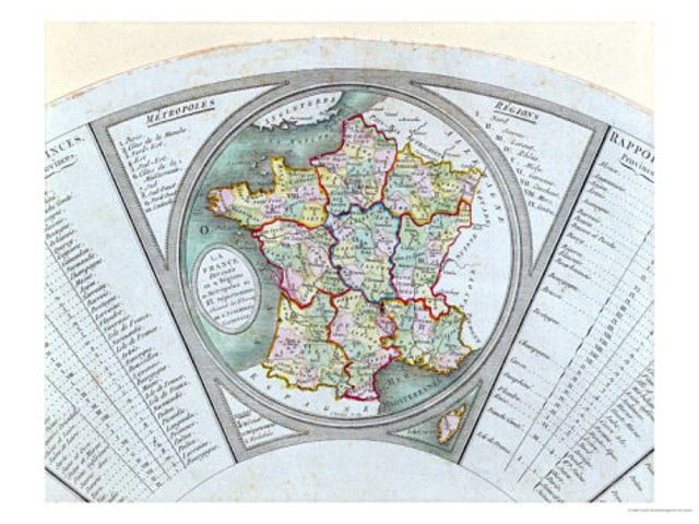 France is Divided (Year of 1790)