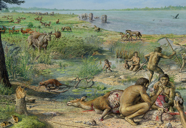 (100,000 years) pleistocene extinction