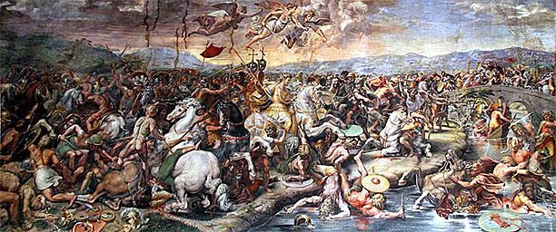 The Battle of Milvian Bridge
