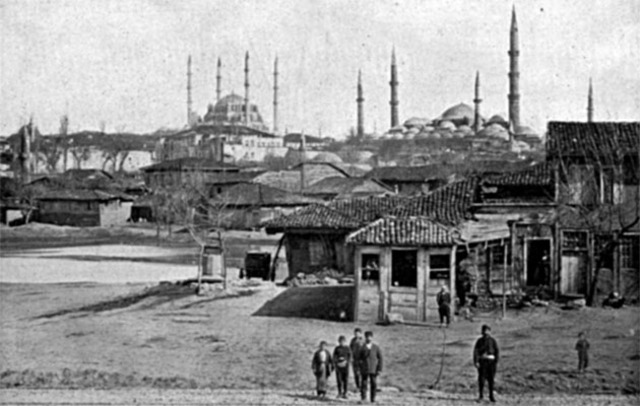 Ottoman capital changes