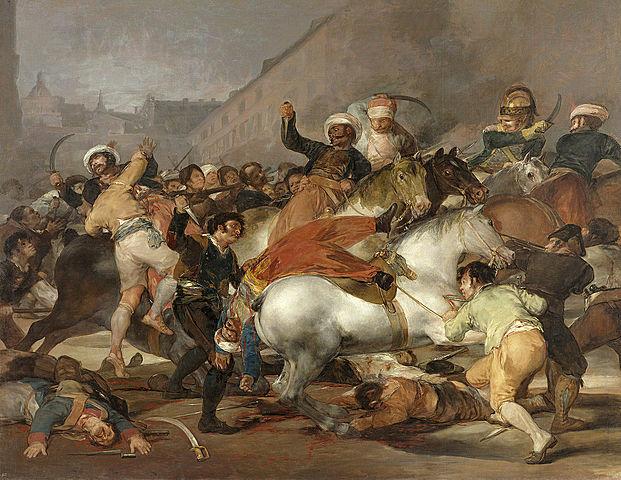 Spain rebells against France