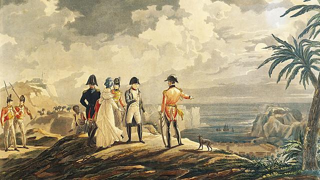Napoleon is exiled to the Island of Elba