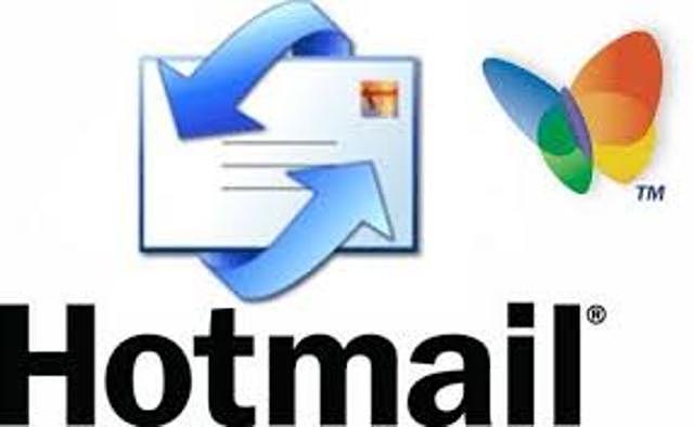 Hotmail se presenta de forma comercial