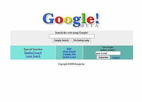 Nacimiento de Google