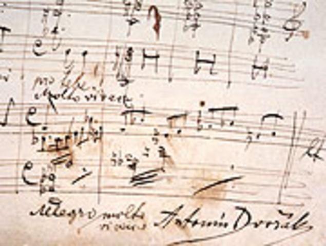 Va escriure la sinfonia del nou món