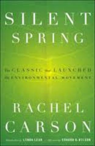 Publication of Silent Spring