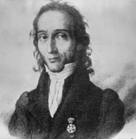 Niccolò Paganini - Violin Virtuoso at age 11