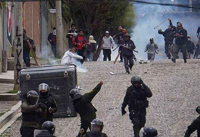 La Fiscalía informa que se registraron siete muertos durante los conflictos en el país