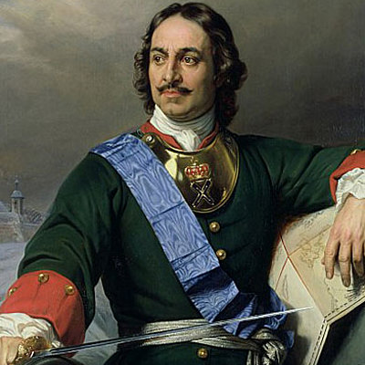 Peter the Great Biography timeline