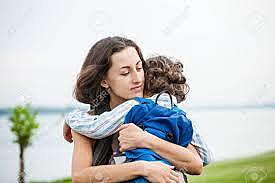 Hassan meeting his mother, Sanaubar