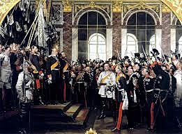 Se crea el II Reich alemán en Versalles