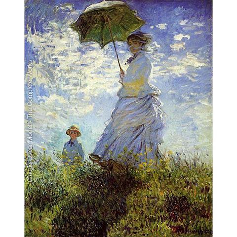 El paseo - Monet