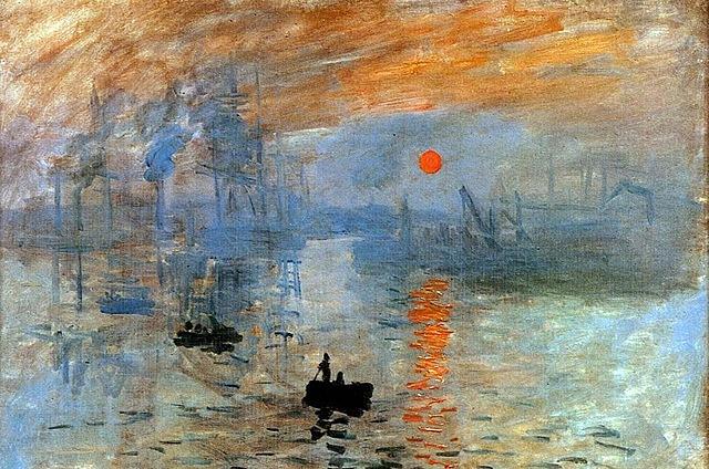 Impresión, Sol naciente - Monet