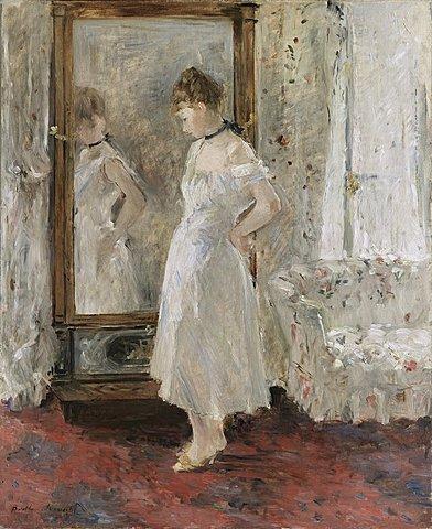 El espejo de Psique - Berthe Morisot