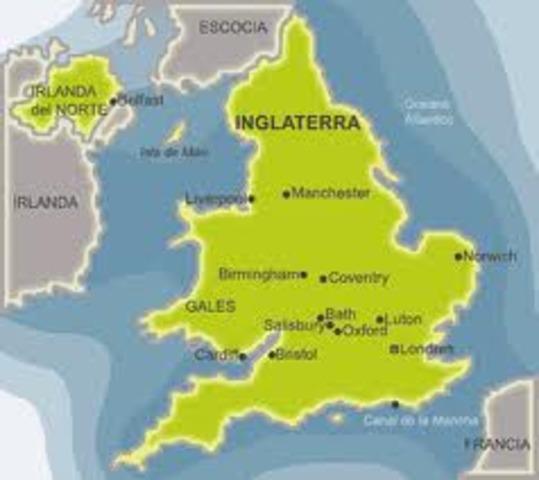 Primers viatges a Anglaterra