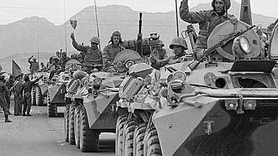 Russian Tanks Roll In