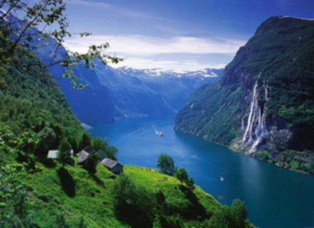 Поездка с семьёй в Норвегию