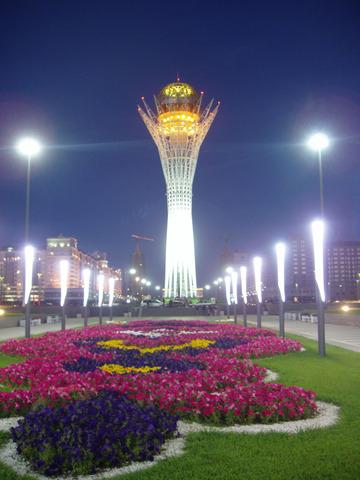 Поездка в Казахстан с родителями