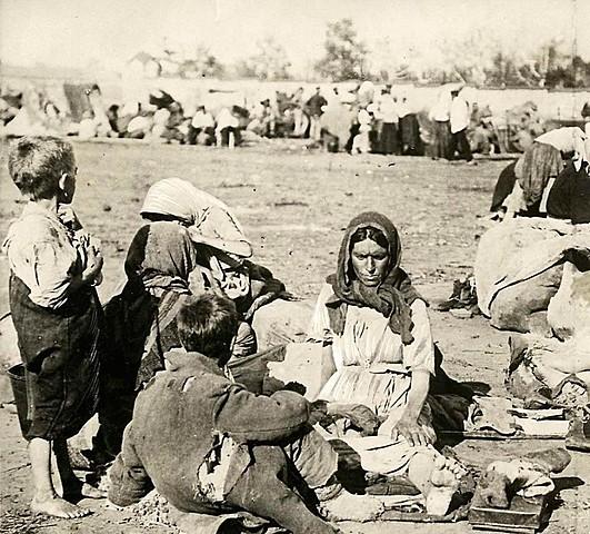 Голод крестьян
