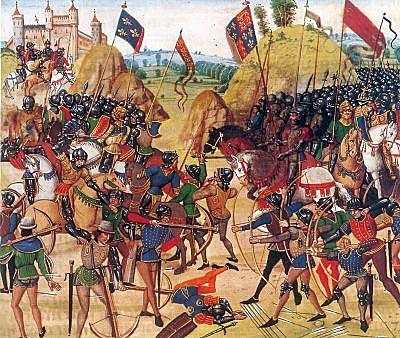 La Guerra de los Cien Años (1337 d.C)