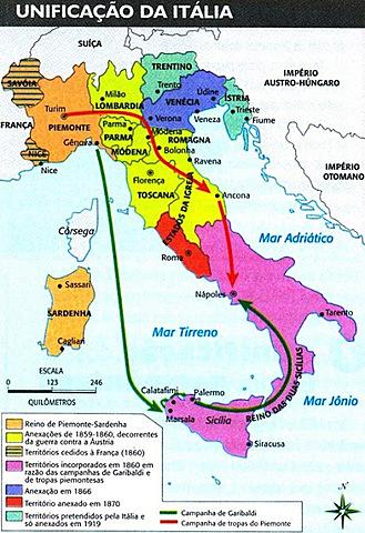Unificação Italiana (Q6-2017)
