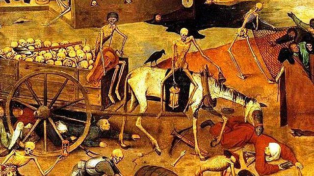 La Muerte Negra (1348-1350 d.C)