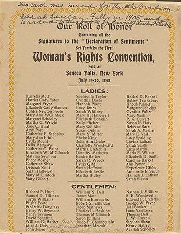 Seneca Fall Convention