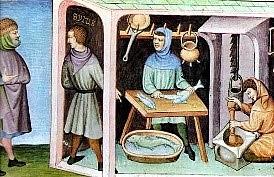 Edad media gremios artesanales y comerciante 476 d.c - 1492