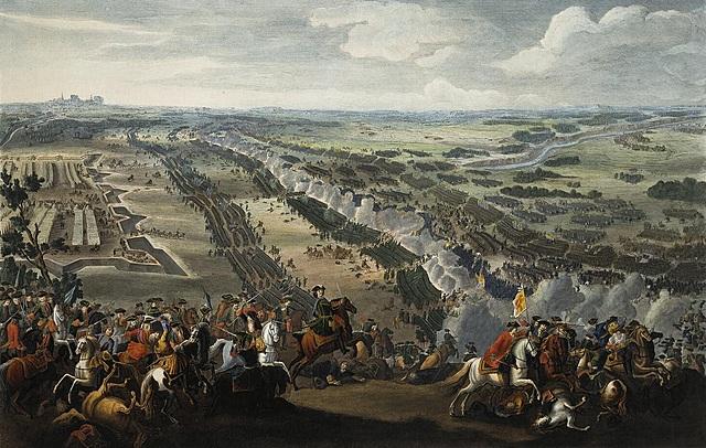 Battle of Poltava in Ukraine.