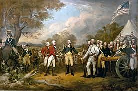 Batalla en Saratoga.