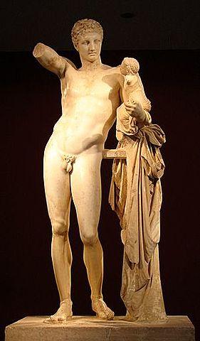 Hermes i Dionís infant