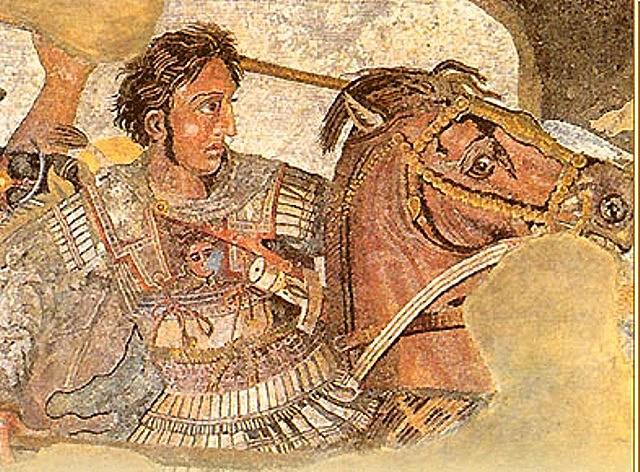 Mosaic d'Alexandre el gran