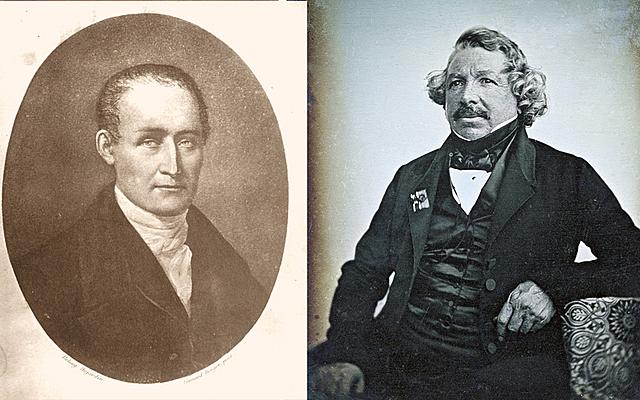 Daguerre y Niepce