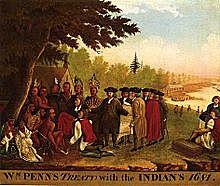 William Penn funda Pensilvania