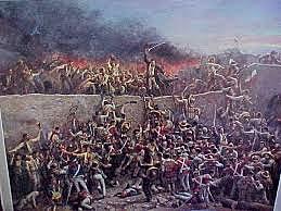 Recruiting one hundrend men for The Alamo battle