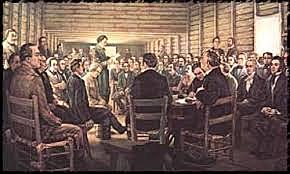 General Council called a convention to meet at Washignton on the Brazos.