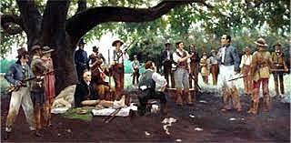 Capture of Santa Anna.