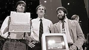 Stephen Wozniak y Steve Jobs