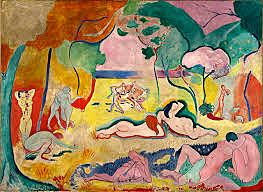 La alegría de vivir - Matisse