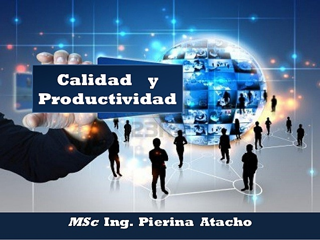 CALIDAD Y PRODUCTIVIDAD
