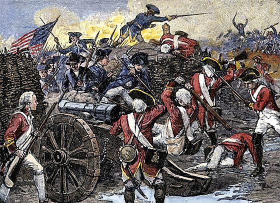 En Yorktown (Virginia) llegan tropas Británicas.