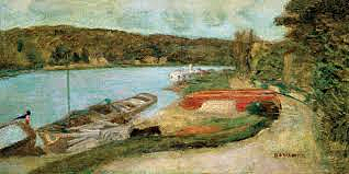 El Sena - Pierre Bonnard