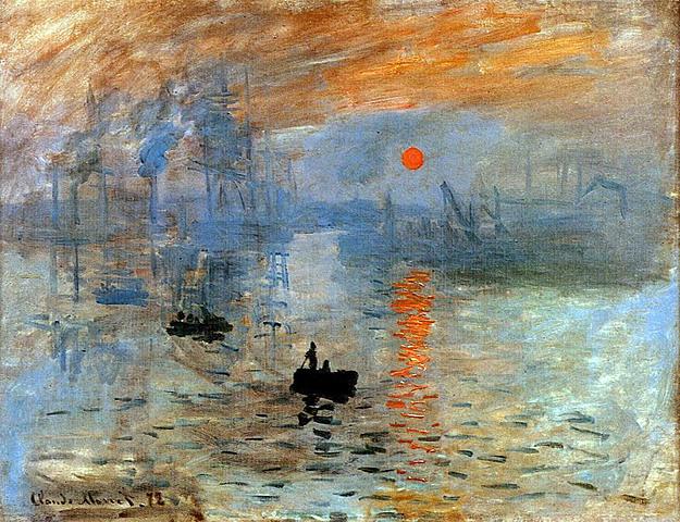 Impresión, sol naciente | Monet