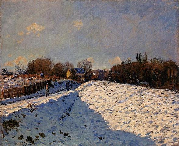 Nieve en Argenteuil | Sisley