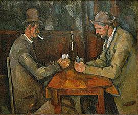 Los jugadores de Naipes | Cézanne